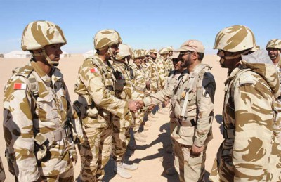 Eight Bahraini Soldiers Wounded in War on Yemen Treated in Saudi